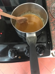 It will eventually become a brown liquid
