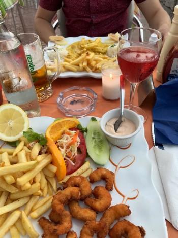 Beach meal