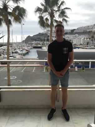Ieu on our balcony