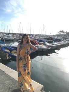 Me at the marina