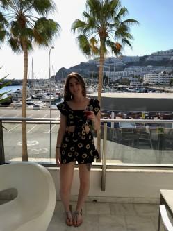 Me on the balcony 2