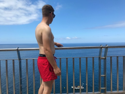 Path along the sea