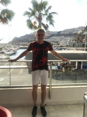 Ieu on the balcony