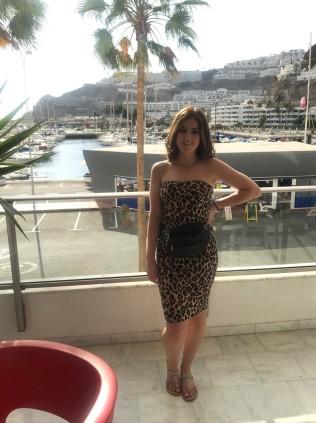 me on the balcony